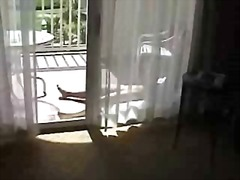 Voyeur 27 his friends mother sunbathing and reading  (mrno)