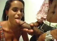 brésil, interracial, anal, latines,