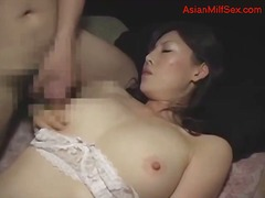 milf, japanees, asiër, japanees, ouer vrou, ouer, dame, ouer, ma