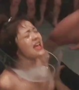 fetish, asian, slut, group sex, facial, cumshot, sperm, jizz, bukkake, japanese