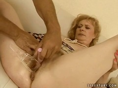 mature, grandma, granny, orgasm, old