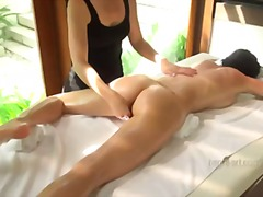 olie, finger, massage, orgasme
