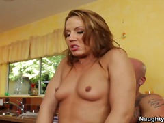 inari vachs,  pussy, blowjob, screaming, milf, cougar, naughty america, inari vachs, ass, kitchen, fucking, vagina, hardcore, rough-sex, orgasm