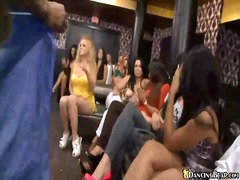 orgy, dancingbear, group, horny girls, tease, club, blowjob, slurping, cfnm, party, gangbang, nightclub