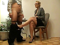 blond, voet fetish