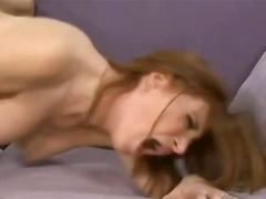 Big breasted milf ginger lee has her nice milk shakes blasted with jizz