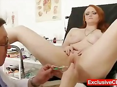 doctor, cervix, enema, k.d., kinky, exclusiveclub.com, gaping