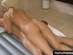 oil, hardcore, massage, showering, wet, cumshot, blowjob, pornstar, blonde