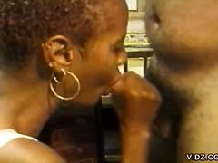 short hair, oral, hardcore, african, k.d., curly haired, ebony, blowjob