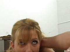 hard, bj, tatoo, oraal, blond, milf