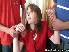 wife, mature, housewife, granny, lingerie, mother, old and young, grandma, mom, boss, old