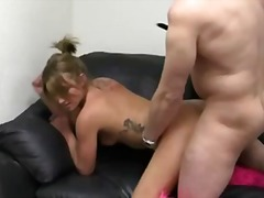 anal, blowjob, couch, tattoo, ass, costume, pov, reality, interview, pussylicking