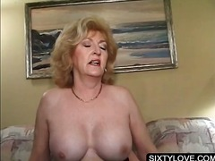 mature, granny, fetish, hardcore, older, big-tits, blowjob, blonde
