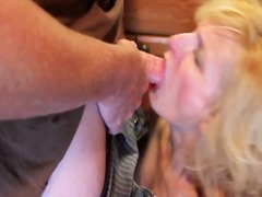 ma, bj, sperma, hand job, milf, bj, sluk, oraal, groot anties, sperm, bj, wit, bj, blond