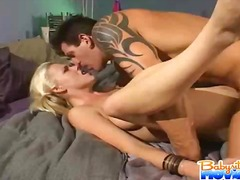 Hard, Bj, Blond, Hand Job, Groot Piel