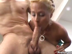blond, hard, bj