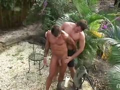 outdoors, gay, shaved, hardcore