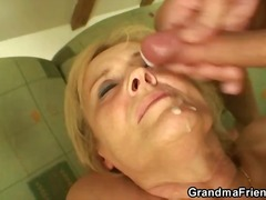 nylons, anal, blowjob, reif, blond, granny, hardcore