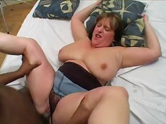 big-tits, mature, blowjob, melons marie, interracial