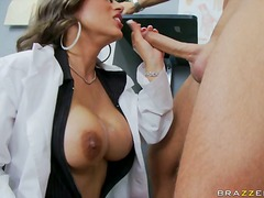 big-tits, brunette, high, big-dick, alexis ramirez, heels, doctor