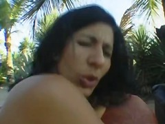 interracial, outside, inia, afro, outdoors, big-dick, cock-riding, sex-toys, big-tits, group