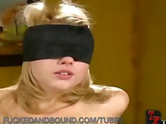 bunden, bdsm, bondage, blond