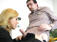 """i want the job really bad!"" zoe told potential employers ethan and ""sexy"" lexi lamour, the only question w..."