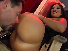 brunette, oral, corset, bdsm, pornstar, asian, latex, ass, ass-licking, pussy-eating, hd, hardcore, femdom