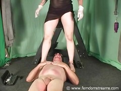 ball-licking, pain, femdom, cock-riding, mistress, cbt, slave, slap, bust