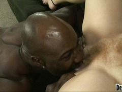 Yobt:big-tits, fellatio, rough, afro, oral, red-head, pussy-eating, sierra syke, cocksucking, interracial, black