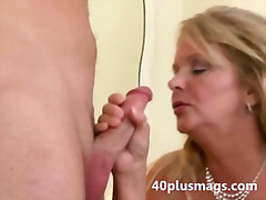 blonde, fat, wife, chubby, mature, milf