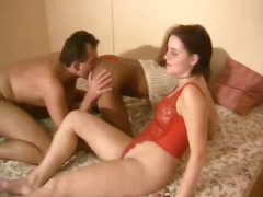 threesome, kinky, girl-on-girl, amateur, interracial, blowjob, 3some, brunette