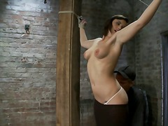 humiliation, squirt, bdsm, shaved, clamps, slave, fetish, bondage, orgasm, nextdoor, girl-on-girl