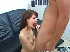 pornstar, blowjob, doggystyle, deepthroat, brunette, creampie-angels.com, cunnilingus, reality, hardcore
