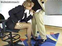 Sexy nicole blows her boss