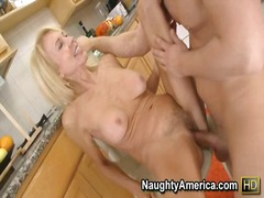 milf, ass-licking, petit, mature, fake, blonde, big-tits, ball-licking, mom, chair, pussy-eating, floors, blow, kitchen