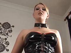 latex, fetish, lingerie-videos.com, blonde