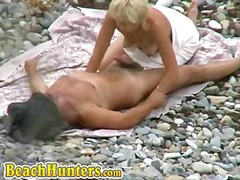 outdoors, voyeur, nudist, public, beach