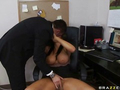 cute, big-tits, tanned, brunette, girl-on-girl, hungry, horny, female-friendly, boss