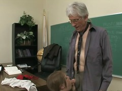 younger, old, teacher, school, young, face-fucking, cock-riding, older, classroom, daddy