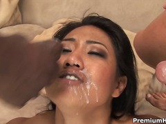 interracial, doll, 3some, threesome, diana, hardcore, dollar, mmf, demarco, face-fucking, groupsex, dp