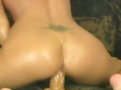 toy, cock, riding, wild, ride, booty, babe, hard, naughty, cumshot