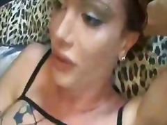 monsterpiel, monsterpiel, shemale, ladyboy, dame, lateks, latyns-amerikaanse, transvestiet