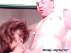 orgie, gangbangs, anal, anal, noirs, hardcore, groupe, vintage, trios