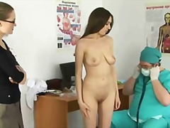 rough, kinky, gyno, doctor, insertion, pussy, clinic, medical, speculum, fingering