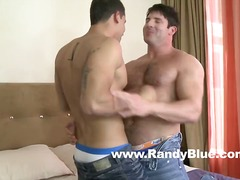 Raphael cedano has his brown slot rimmed and drilled by jeremy walker in his very first-ever ever bottoming xxx movie.