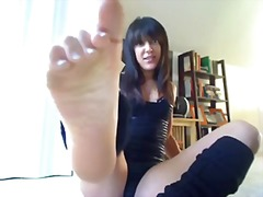 mastrubasie, amateur, webcam, pov, voet fetish