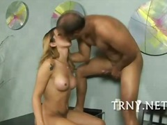 teen, arsch, blowjob, blond, shemale, guy