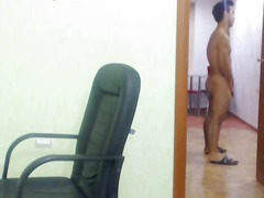 hunk, webcam, gay, masturbation, solo
