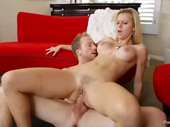bj, boud, blond, anaal, hard